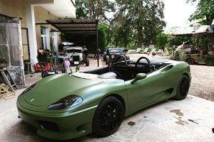 Ferrari 360 Spider Transformed Into Speedster