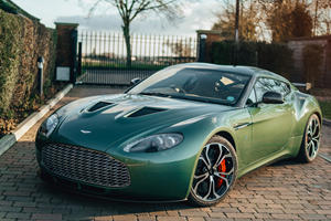 Rare Aston Martin V12 Zagato Is A One-Off Beauty