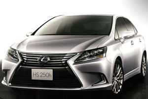 Lexus HS 250h Gets a Facelift