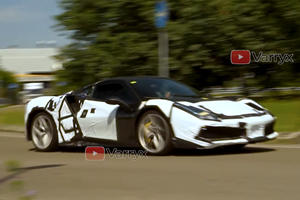 Spied! Ferrari's Next Hybrid Supercar Reveals Something Unusual