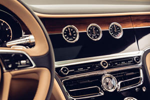 Bentley Explains Its Awesome Rotating Dial Display