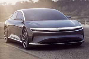 The 400-Mile Electric Lucid Air Will Change The EV Game This September