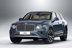 New Bentley Bentayga Facelift Leaks Online