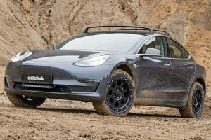 Germany Turns Tesla Model 3 Into Serious Off-Roader