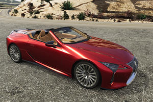 Lexus LC 500 Upgraded With New TRD Parts