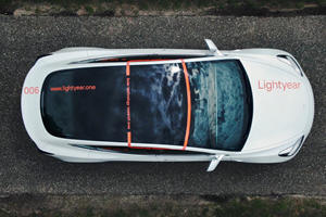 Tesla Model 3 With Solar Roof Panels Hits The Road