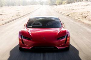 Watch The Tesla Roadster Clock 0-60 MPH In 1.1 Seconds