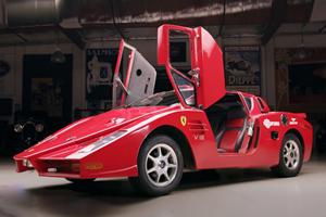 Watch Jay Leno Drive A Fake Ferrari Enzo