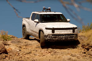 Watch The Rivian R1T Go Full 'Beast Mode' Off-Road