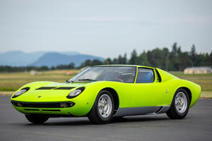 Exquisite Green On Blue Lamborghini Miura Could Sell For Seven Figures
