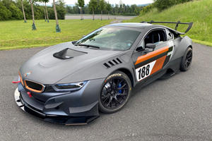 BMW i8 Transformed Into Full-Blown Procar