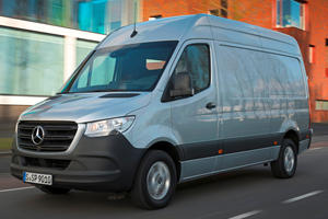 2020 Mercedes Cargo Sprinter Is More Frugal Than Ever