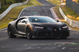 Watch Bugatti Fine-Tune Chiron Pur Sport At The Nurburgring
