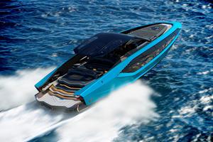 Lamborghini Builds 4,000-HP Luxury Yacht
