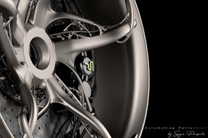 3,000-HP Greek Hypercar Has Stunning 3D-Printed Titanium Wheels