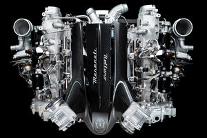 Maserati's New V6 Engine Is A 620-HP Masterpiece