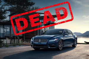 Lincoln Officially Kills Off The Continental, Again