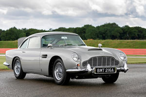 Aston Martin Unveils $3.5 Million DB5 Goldfinger Continuation Car