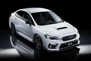 New Subaru WRX STI Previewed By Limited Edition Model