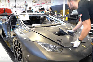 This Is How The Lamborghini Huracan Evo Is Born