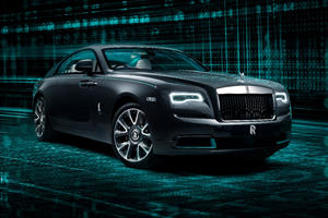 Rolls-Royce Wraith Kryptos Collection Contains A Secret Message