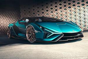 2021 Lamborghini Sian Roadster Is An 819 Horsepower Hybrid Supercar