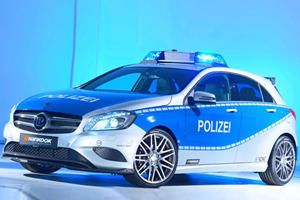 Mercedes A250 Brabus Polizei Debuts at Essen