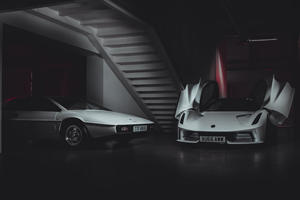 007's Lotus Esprit Says Hello To Lotus Evija Hypercar