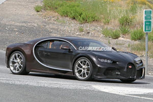 Mystery Bugatti Chiron Spied With Unique Styling