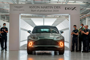 Aston Martin DBX Finally Enters Production