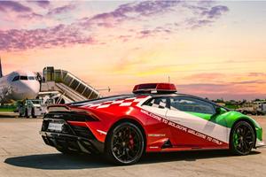 Lamborghini Huracan Evo Has A Special Job In Supercar City