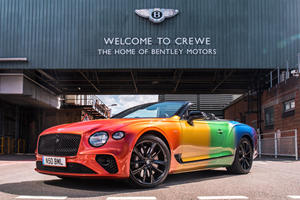 Bentley Continental GT Convertible Gets A Colorful New Look
