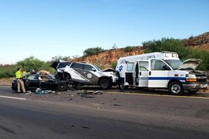 Tesla Model S On Autopilot Smashes Into Police SUV And Ambulance