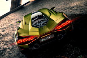 Lamborghini Invented A New Material To Keep The Sian's Engine Cool