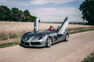 Ultra-Rare SLR McLaren Stirling Moss Has Barely Ever Been Driven