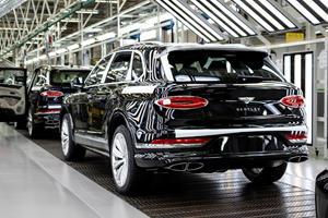 New Bentley Bentayga Enters Production