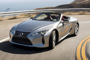 2021 Lexus LC 500 Convertible Has A Six-Figure Price Tag