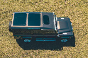Custom Defender Packs Big V8 And Even Bigger Glass Roof