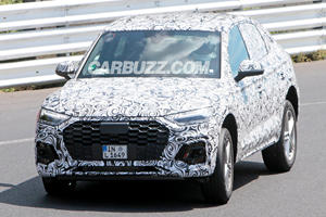 2021 Audi Q5 Sportback Spied Attacking The Nurburgring