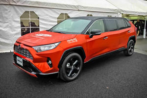 Toyota Dropped This RAV4 Limousine For Strength Testing