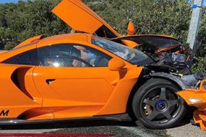 Former F1 Driver Crashes Super Rare McLaren Senna LM