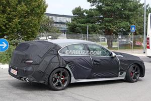 Genesis G70 Wagon Starting To Take Shape