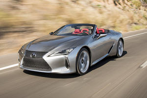2021 Lexus LC Convertible Keeps V8 And CD Player For The Same Reason