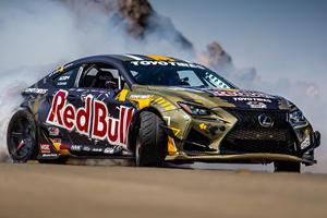 1,200-HP Lexus RC F Drift Car Was Built To Destroy Tires