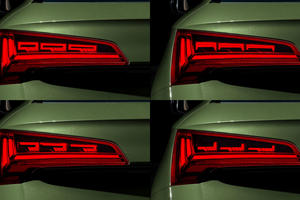 Audi's New OLED Rear Lights Are Totally Customizable