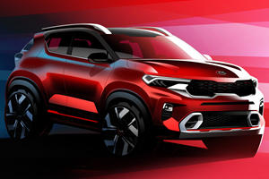 All-New Kia Sonet Is A Baby SUV With Powerful Looks