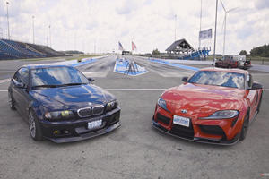Watch A Toyota-Powered BMW M3 Battle A 2020 Toyota Supra