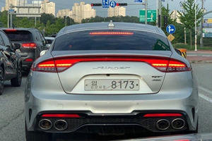 2021 Kia Stinger Spied Without Any Camo