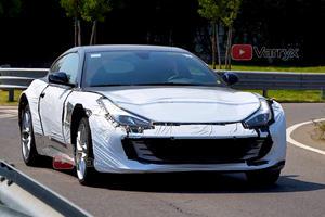 Watch: Ferrari Purosangue SUV Test Mule Hits The Streets