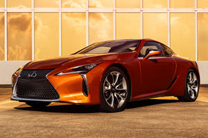 2021 Lexus LC 500 Coupe Gets New Eye-Catching Color